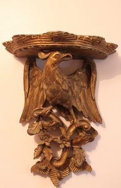 magnificent antique 19th century english gilt wood wall bracket george iii ebay