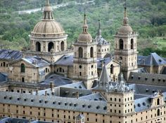 The Royal seat of San Lorenzo de El Escorial - The Royal Historical Residence of the King of Spain.