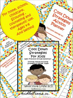 Printable playing cards plus 5 ways to use them at home, school, play therapy, school counseling, child care and MORE! BONUS Cool Down Action Planner! 29 Pages of Helpful Fun! On sale now! Exclusively @Kidlutions
