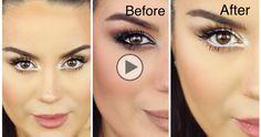 Como hacer para que los Ojos se vean Grandes con un Maquillaje - Maquillaje