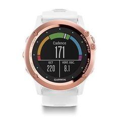 Garmin Fenix 3 Sapphire Women Multisport GPS Triathlon Smart Watch White NEW