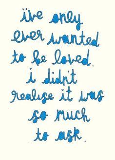 Am I unlovable?