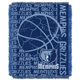 "The OFFICIAL NBA ""Double Play"" Woven Jacquard Throw is a top choice for showing your true pride. This 46""x 60"" throw has decorative fringes on all four sides and is made of soft, yet durable High Bulk Acrylic. It's easy to care for and holds up well even after repeated machine washing. The weaving process allows for pure team colors, perfect for the die-hard fan. 100% Acrylic. MADE IN AMERICA."