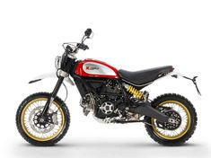 For Ducati announced two new variations in the Scrambler family: the sporty Café Racer and the off-road focused Desert Sled. Ducati Scrambler, Ducati 1299 Panigale, Enduro, Ducati Motorcycles, Scrambler Motorcycle, Motorcycles For Sale, Standard Motorcycles, Motorcycle News, Custom Motorcycles