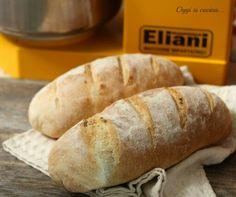 Pane di farina macinata a pietra con lievito madre. Impastatrice monofase 2 velocita Eliani ES6-2V