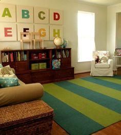 living room kids play area | Living Room