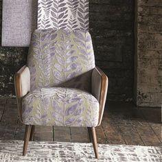 foglia - fuchsia fabric | Designers Guild