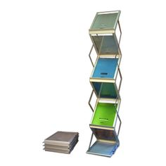 6 Pocket Displayit Collapsible Trade Show Literature Display - Exhibit Literature Displays