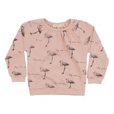 Soft Gallery Silke Sweat AOP Fly Flamingo