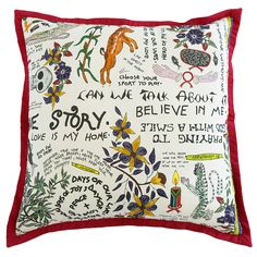 Scatter Cushion.  Wonder Boy range: Wonderboy Bleached Linen.   All our cushion designs come in 60x60, 70x40 & 40x40.