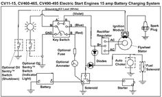 lawn mower ignition switch wiring diagram moreover lawn mower rh pinterest com MTD Riding Mower Wiring Diagram Troy-Bilt Wiring Diagrams