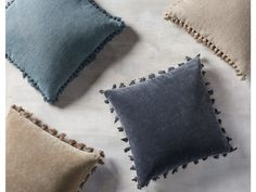 Shop decorative pillows at Arhaus