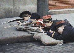 La guerre des gosses, Léon Gimpel, 1915