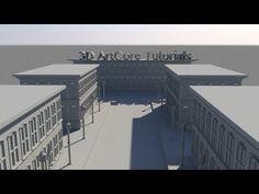 Speed Modeling Maya- A street - YouTube