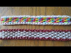 Hook Only- Barrel Roll Bracelet (Original Design), My Crafts and DIY Projects Loom Bands Designs, Loom Band Patterns, Rainbow Loom Tutorials, Rainbow Loom Creations, Rainbow Loom Bands, Rainbow Loom Bracelets, Rubber Band Crafts, Rubber Bands, Loom Bands Instructions