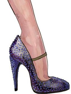 Stuart Weitzman and Beyonce's creative team collaborated on shoes for The Mrs. Carter Show World Tour.
