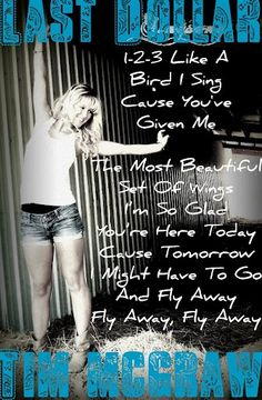 1, 2, 3, Like a Bird i Sing - Tim McGraw - YouTube