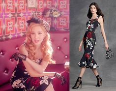 Seohyun in Dolce and Gabbana rose print fitted dress, $2,945