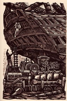 The Swiss Family Robinson, illustrated by David Gentleman