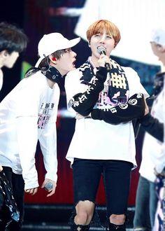 Taehyung & Jhope - BTS. Me too, taehyung. Me too.