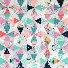 Kaleidescope Foundation Paper Pieced PDF by tiedwitharibbon