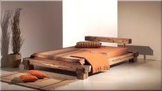 Ágykeret, antik fa designbútor
