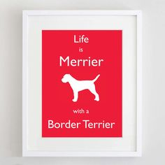 Border Terrier Picture  Border Terrier Print  Dog by ForeverFoxed, $17.00