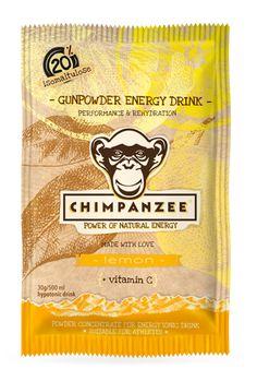 Chimpanzee Bar's Gunpowder Drink #Energy #loveblue