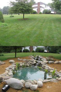 Transformation by Pond Builders, LLC in Oxford, NJ.