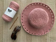 Easy Crochet Projects, Crochet Patterns For Beginners, Crochet Crafts, Yarn Crafts, Beginner Crochet, Bonnet Crochet, Knit Crochet, Afghan Crochet, Double Crochet