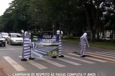 Símbolo da civilidade brasiliense, faixa de pedestres faz 18 anos +http://brml.co/1EMqs6O