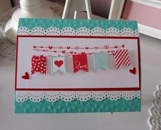 Banner Blast Valentine love this set by staff2 - Cards and Paper Crafts at Splitcoaststampers