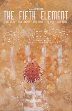 The Fifth Element Fan art by wellsillustration