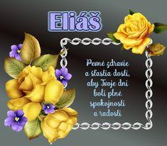 Eliáš - prianie k meninám