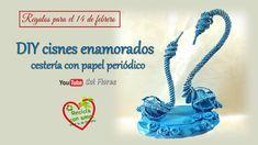 SOL EN SU MUNDO DE PAPEL: Regalos para el 14 de febrero. DIY cisnes enamorad...