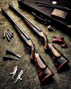 Hunting Equipments: amazing collection of guns. Hunting Scopes, Hunting Rifles, Weapons Guns, Guns And Ammo, Bushcraft, Tactical Shotgun, Battle Rifle, Crossbow Hunting, Custom Guns