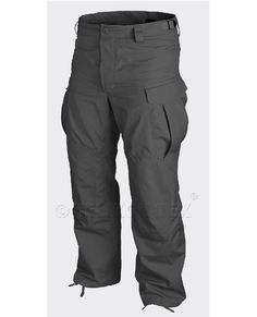Helikon SFU Trousers Black are made with the quality strong nyco ripstop material for serious tactical use.