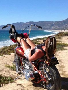 Sunshine beach bike & open road *swoon*