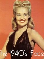 betty grable - 1940s face