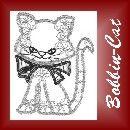 zur hp von Bobbin-Cat Bobbin Lace, German, Brooch, Cats, Focal Points, Landing Pages, Deutsch, Bobbin Lacemaking, Gatos