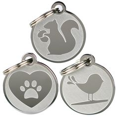 Playful, Custom Engraved Pet ID Tags. Solid Stainless Steel. Personalized Dog and Cat Pet Identification. Durable and Long Lasting Pet ID. >>> Read more  at the image link.