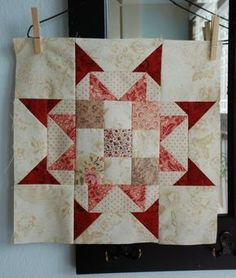 Quilting Land: Star Quilt Block