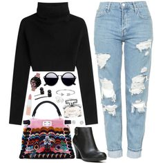 ❤ by polinachaban on Polyvore featuring Valentino, Topshop, Fergalicious, Fendi, Bling Jewelry, Olivia Burton, Simply Silver, Vans, Rimmel and Gucci