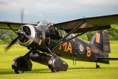 Westland Lysander - Able to fly low, and take off and land in smallish fields, it was a workhorse of support for Resistance fighters and British spies in occupied Europe during WWII