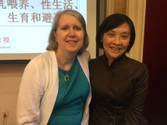 Here's me and my amazing translator Jingjing Yao, who worked side-by-side with me during the first half of the IBCLC training course I created for a Chinese foundation. This photo was taken in October 2016.