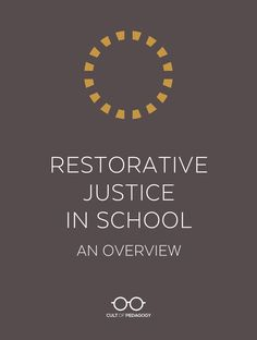 Instead of looking for ways to make punishments stricter, restorative justice seeks to build relationships and repair harm. Learn more about how this holistic approach works and how you can get started. School Leadership, Educational Leadership, Leadership Quotes, Educational Technology, Education Quotes, Leadership Activities, Leadership Qualities, Assistive Technology, Leadership Development
