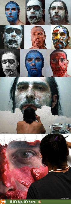 The incredible, photo-realistic artwork of Eloy Morales will blow your mind.