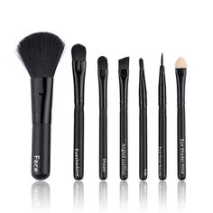 7Pcs/lot Mini Makeup brush Set cosmetics kit de pinceis de maquiagem make up brush Kit set