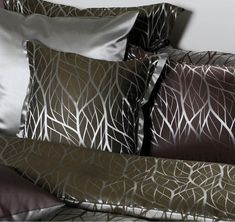 Jungle Silk Bed Linen on www. Silk Bedding, Bed Linen, Bed Pillows, Pillow Cases, Dyeing Yarn, Bed Linens, Pillows, Bedding, Linens