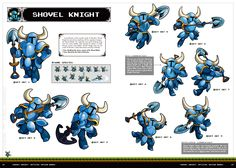 SHOVEL KNIGHT: OFFICIAL DESIGN WORKS (Preview) | UDON Entertainment